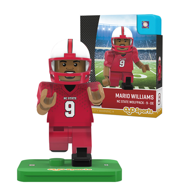 NC State Wolfpack Mario Williams 2 State Oyo
