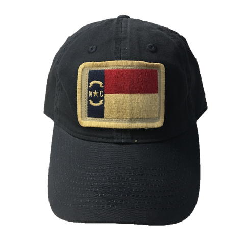 NC State Navy Relaxed Twill State Flag Hat