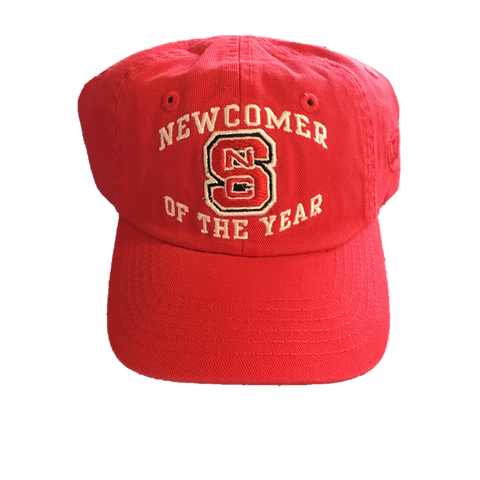 NC State Wolfpack TOW Infant Red Newcomer Adjustable Hat