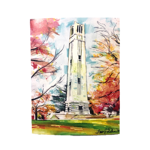 NC State Wolfpack Bell Tower Notecard Set