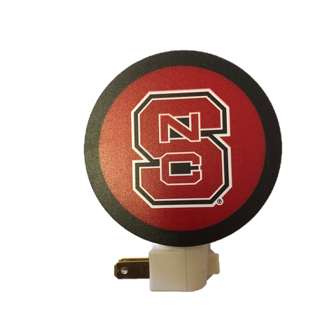 NC State Wolfpack Block S Night Light