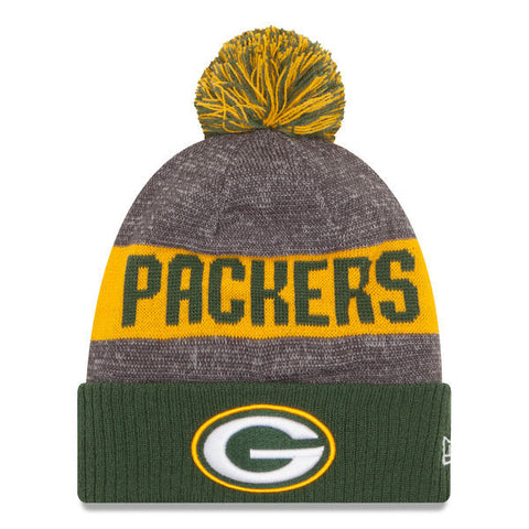 2016 Green Bay Packers On-Field Pom Beanie