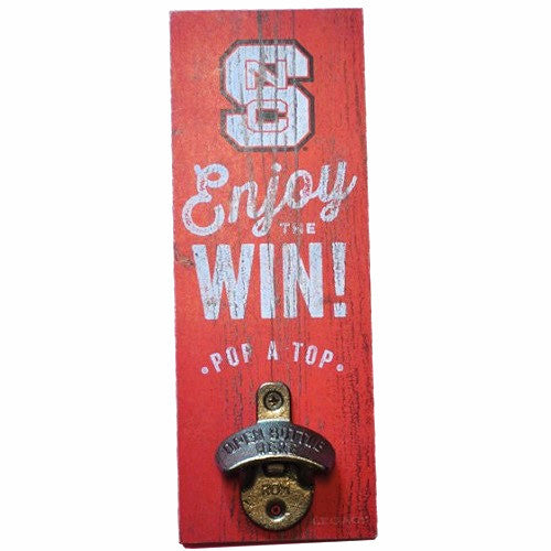 NC State Wolfpack Wall Mount Bottle Opener