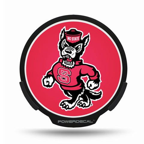 NC State Wolfpack Power Light Up Decal
