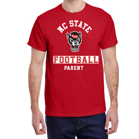 "NC State Wolfpack ""Pack Parent"" Football T-Shirt"