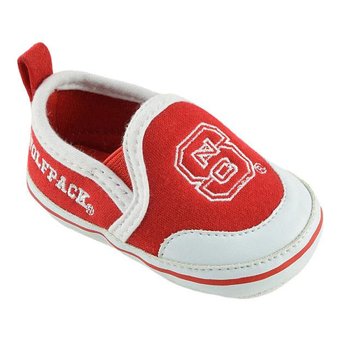 NC State Wolfpack Infant Red Baby Bootie Shoes