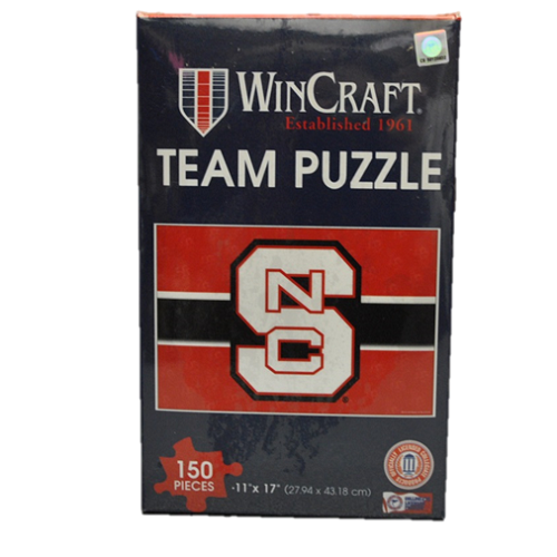 NC State Wolfpack 150 Piece Team Puzzle in Box