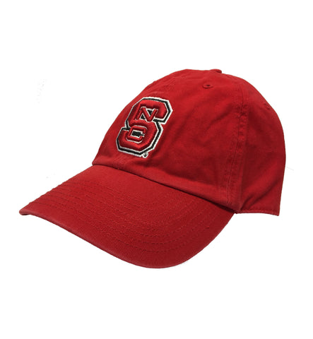 NC State Wolfpack Red Block S Adjustable Hat