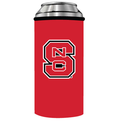 NC State Wolfpack Red Skinny Can Coozie