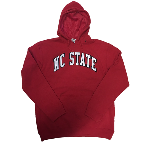 NC State Wolfpack Embroidered Fuzzy Hooded Sweatshirt