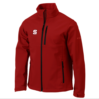 NC State Wolfpack Columbia Men's Red Ascender Jacket