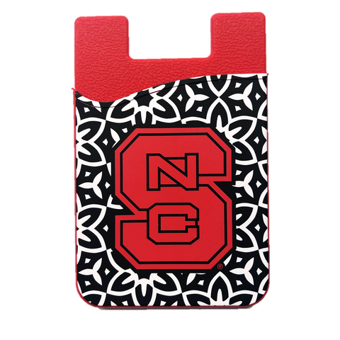 NC State Wolfpack Red Block S Cell Phone Wallet