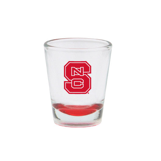 NC State Wolfpack Red Bottom Shot Glass