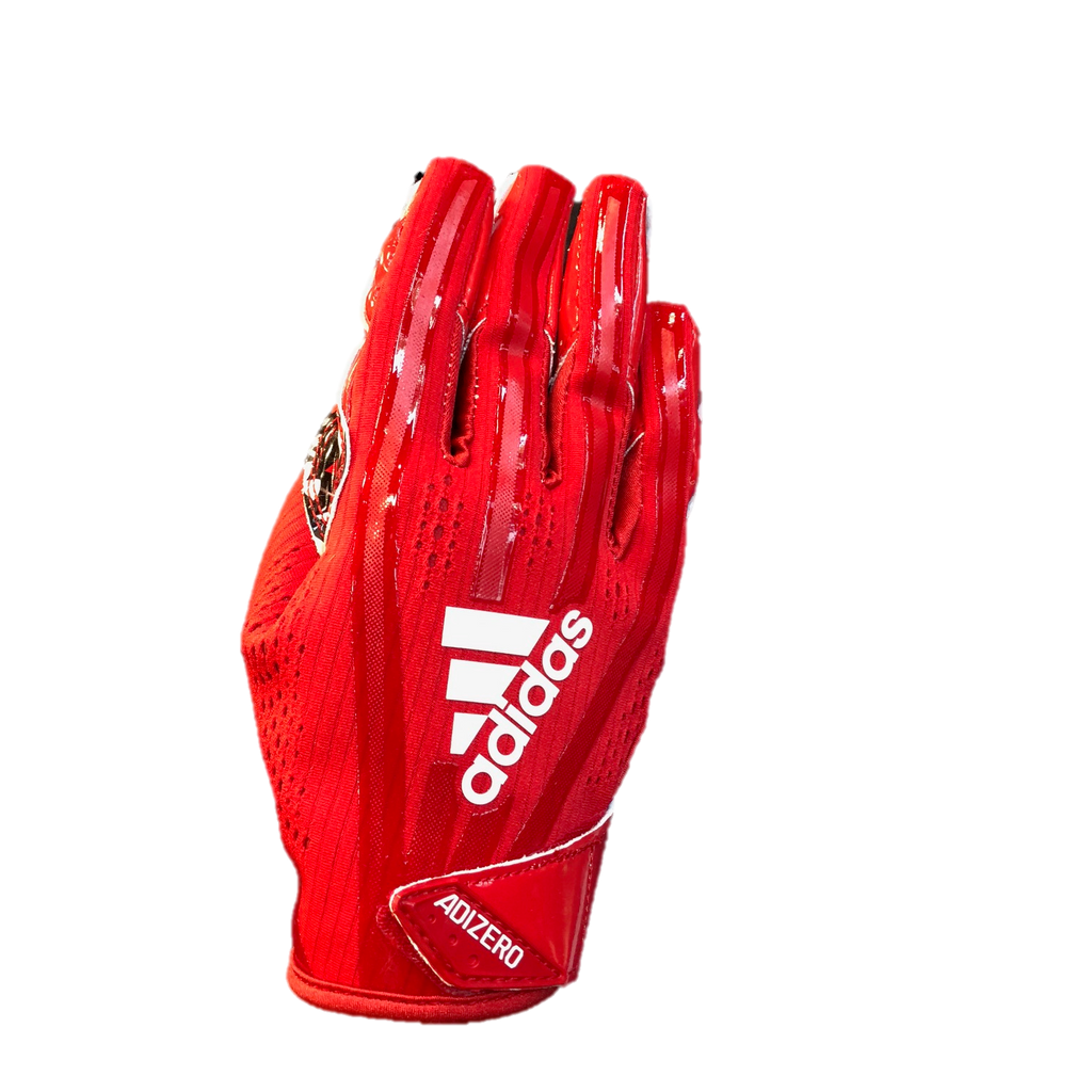 NC State Wolfpack Adidas Red Adizero 5-Star 7.0 Wolfhead Receiver Gloves 390c0e42709b