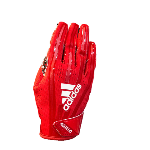NC State Wolfpack Adidas Red Adizero 5-Star 7.0 Wolfhead Receiver Gloves