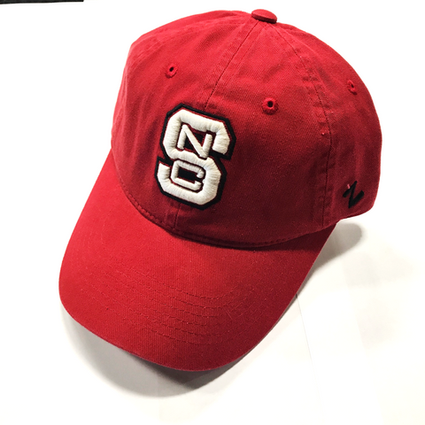 NC State Wolfpack Women's Red Block S Adjustable Hat