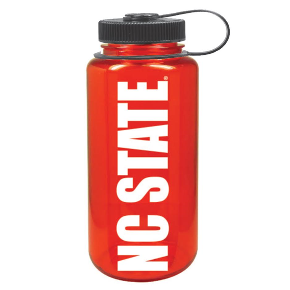 NC State Wolfpack Red 32 oz. Nalgene Tritan Widemouth Bottle