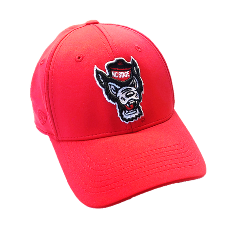 NC State Wolfpack TOW Red Phenom Wolfhead One Fit Hat