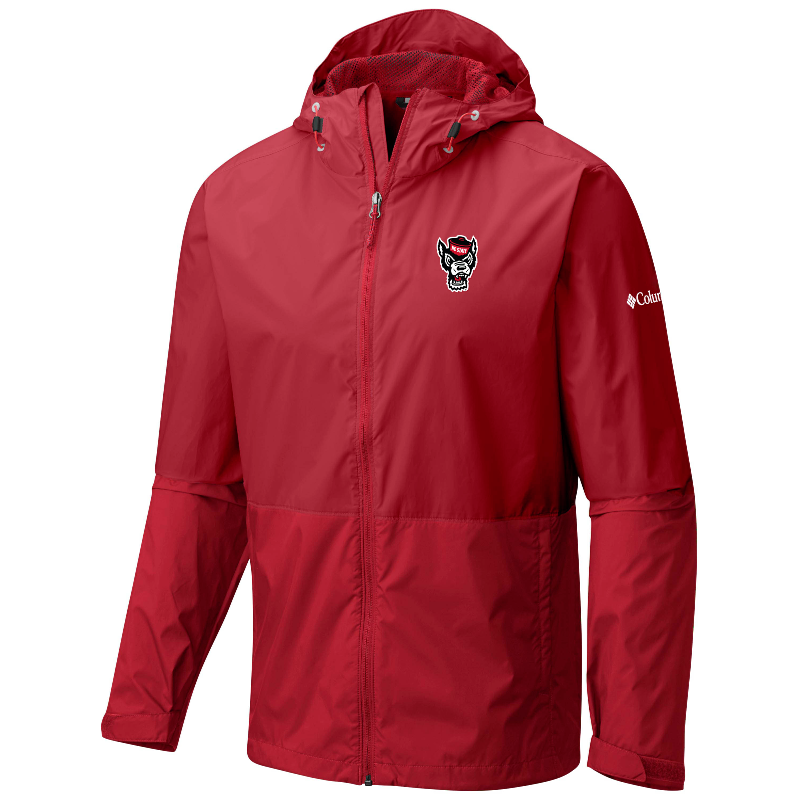 North Carolina State Wolfpack Columbia Red Roan Mountain Jacket
