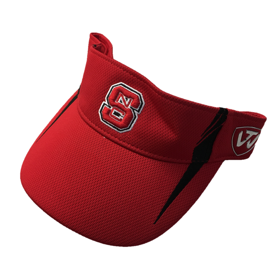 NC State Wolfpack TOW Red Team Visor