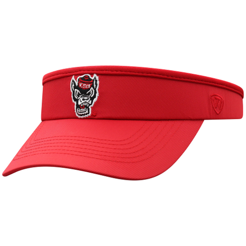 NC State Wolfpack TOW Women's Red Trubeaut Clip Visor
