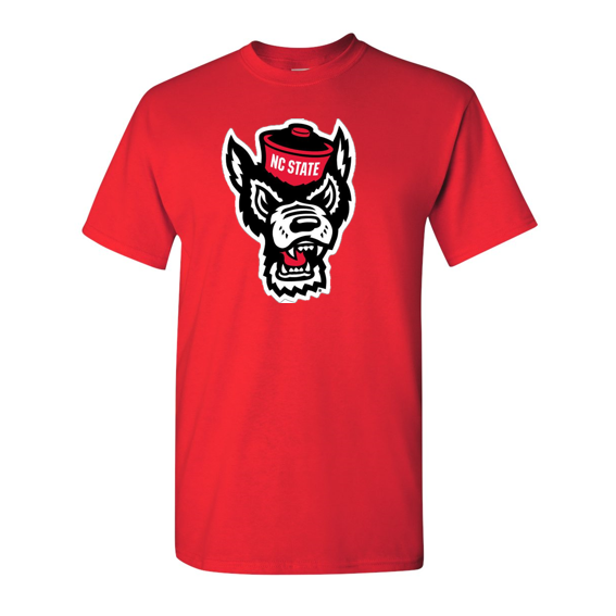 NC State Wolfpack Red Wolfhead T-Shirt