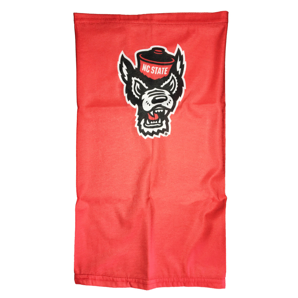 NC State Wolfpack TOW Red Wolfhead L and P Gaiter