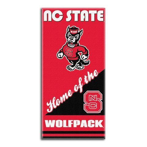 "NC State Wolfpack 28""x58"" Beach Towel"