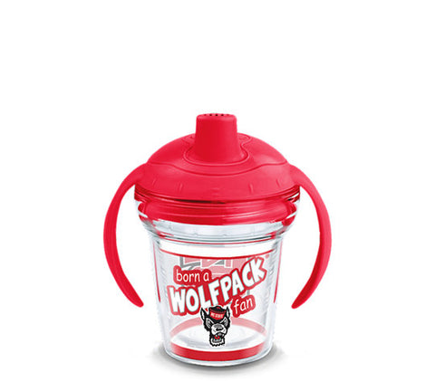 NC State Wolfpack Tervis Born A Fan Sippy Cup