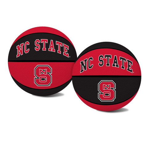 NC State Wolfpack Red and Black Mini Crossover Basketball