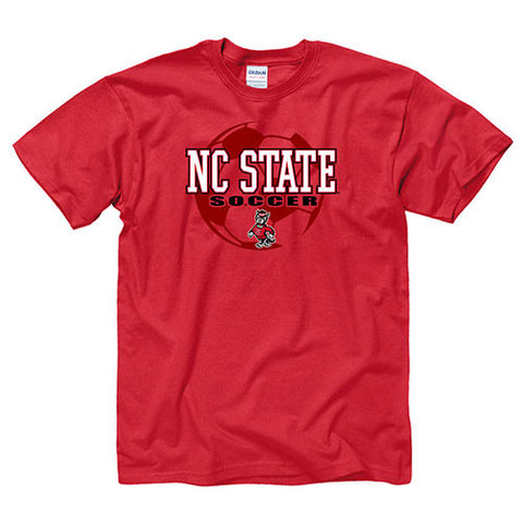 NC State Wolfpack Red Soccer T-Shirt