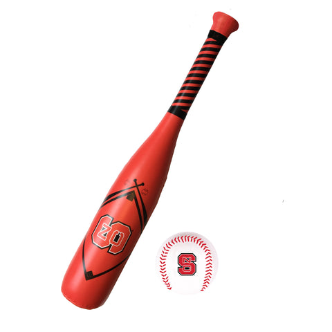 NC State Wolfpack Baden Softee Bat & Ball Set