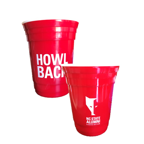 NC State Wolfpack Red Alumni Association Plastic Solo Cup