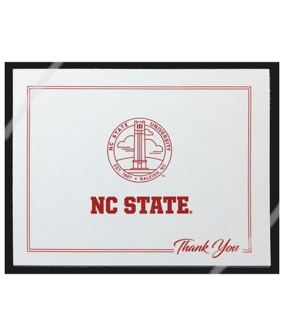 NC State Wolfpack White Hallmark Seal Stationery Set