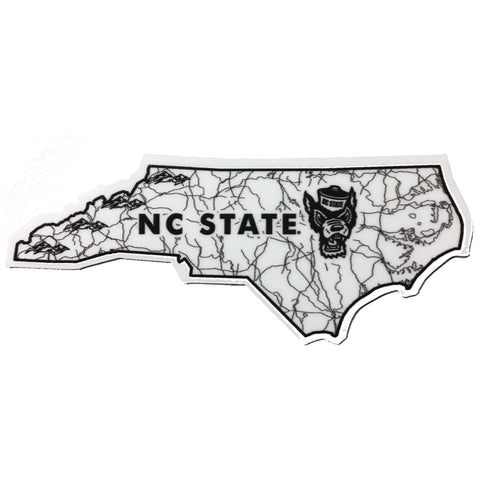 NC State Wolfpack Watershed State Rugged Sticker