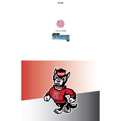 NC State Wolfpack Strutting Wolf Card Set