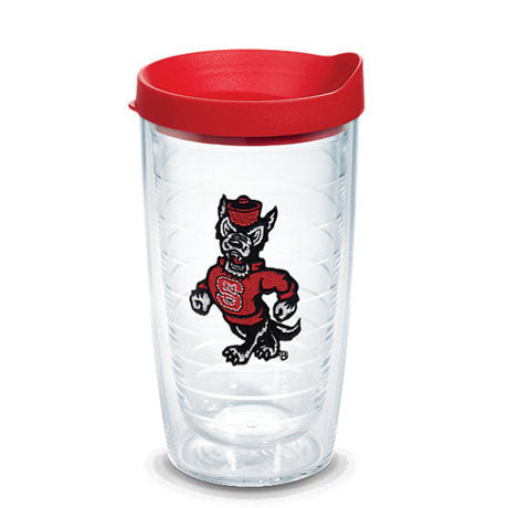 NC State Wolfpack 16oz. Strutting Wolf Tervis w/ Red Lid