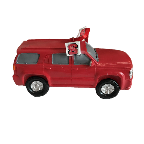 NC State Wolfpack SUV Ornament