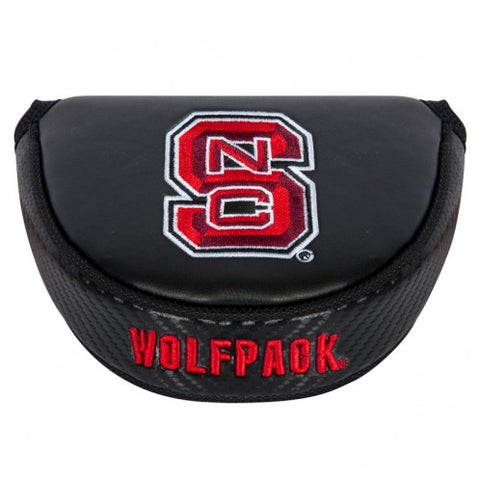 NC State Wolfpack Black Block S Mallet Putter
