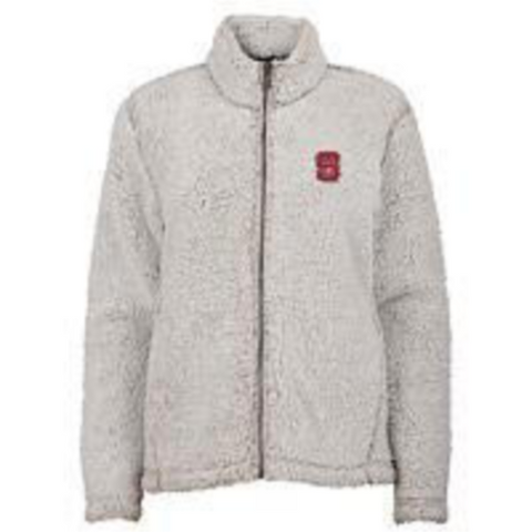 NC State Wolfpack Youth Sherpa Time Honoured Teddy Full Zip Jacket