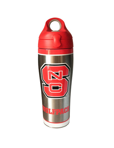 NC State Wolfpack 24 oz Tradition Stainless Steel Tervis Water Bottle