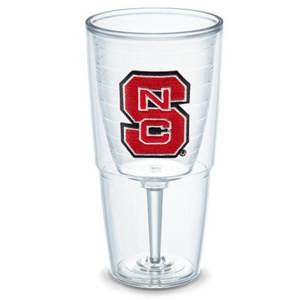 NC State Wolfpack 16 oz Block S Goblet