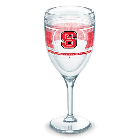 NC State Wolfpack 9oz Wine Tervis Tumbler