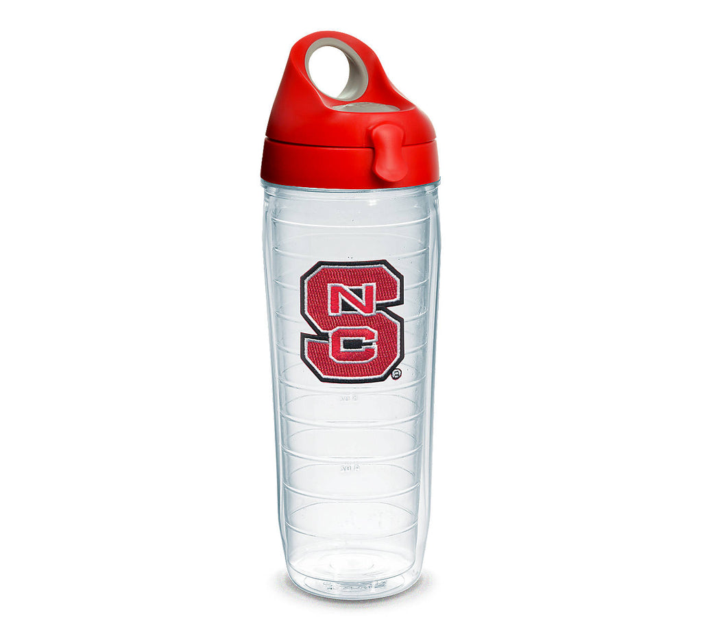 NC State Wolfpack 24oz. Block S Tervis Red Water Bottle