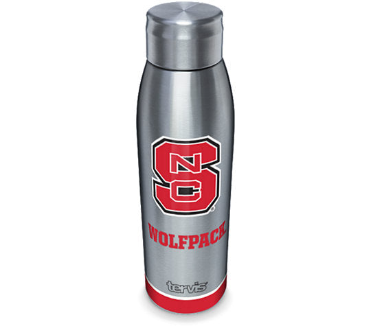NC State Wolfpack 17oz Stainless Steel Tradition Slim Bottle