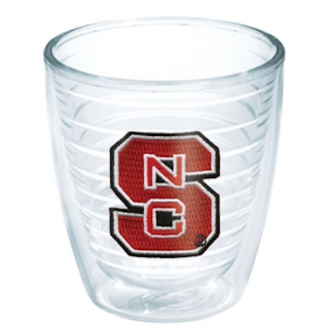 NC State Wolfpack 12 oz. Block S Tervis Mug