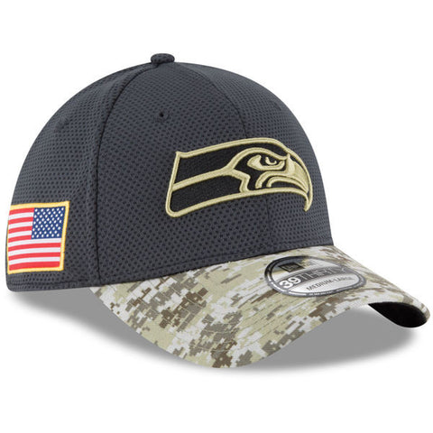 NFL 2016 Salute To Service Seattle Seahawks Hat