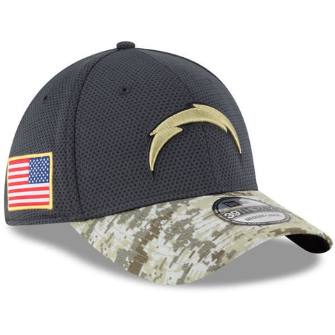 NFL 2016 Salute To Service San Diego Chargers Hat