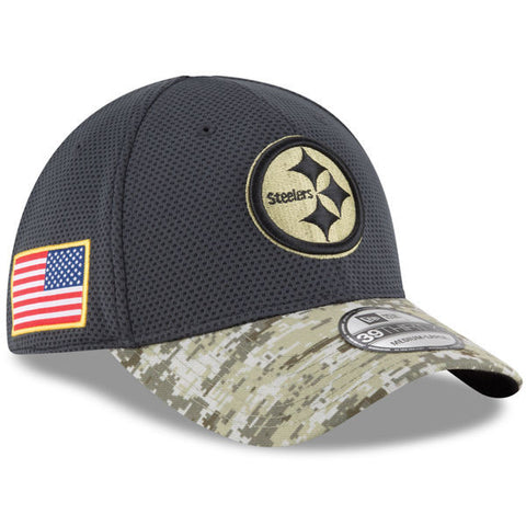 NFL 2016 Salute To Service Pittsburgh Steelers Hat