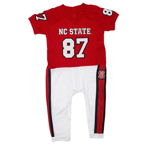 NC State Wolfpack Infant Jersey Onesie Pajama